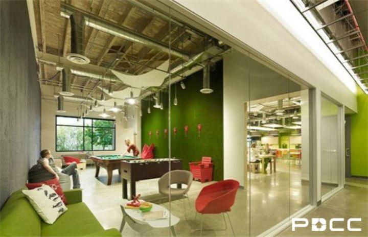 办公室设计 办公室装饰品味成世界潮流