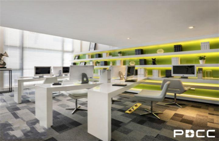 办公室设计公司 简约型空间演绎清新格调