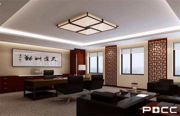 中式办公室设计风格文化内涵深厚