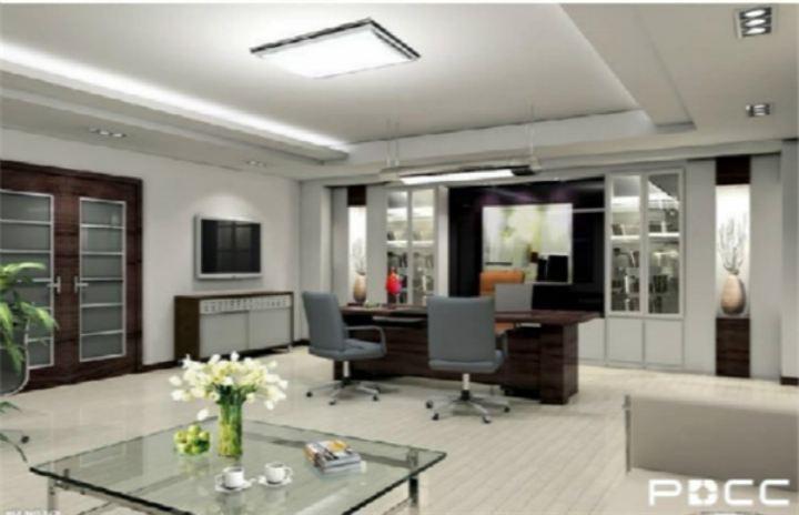 办公室设计公司谈大企业办公室设计