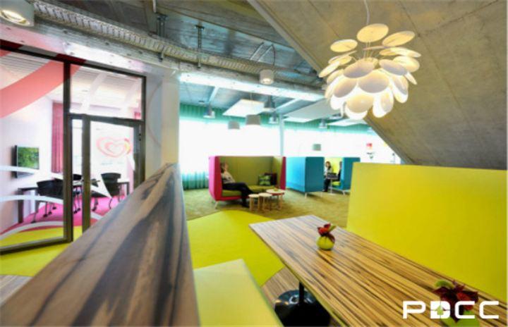 办公室色彩设计的运用技法