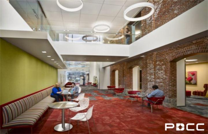 """办公室设计 现代感办公空间""""修炼""""法"""