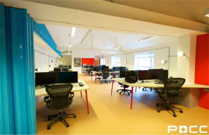 办公室装修效果需彰显文化内涵