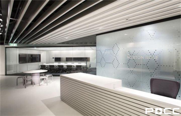 成功的企业家会这样装修自己的公司办公室前台!