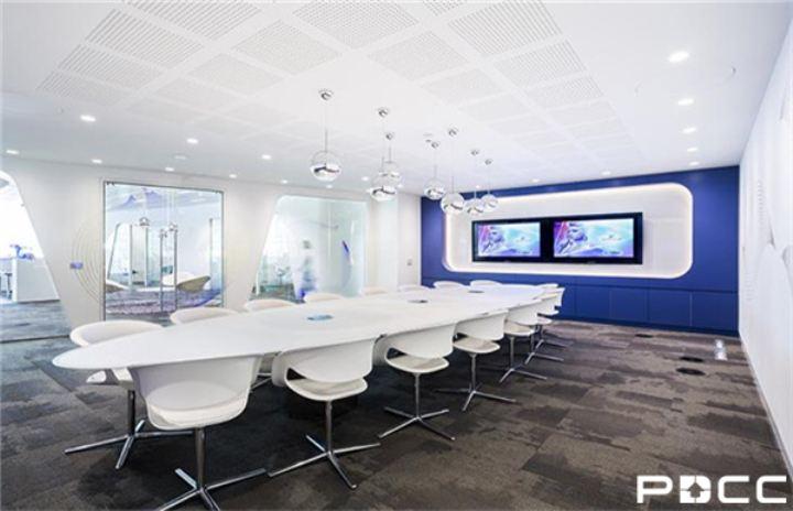 PDCC上海办公室装修支招视频会议室装修