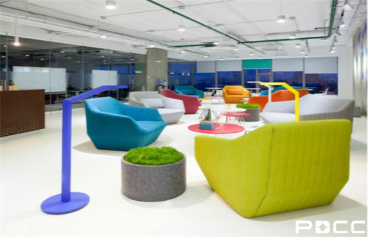 办公室装修的视觉感受与视觉效应