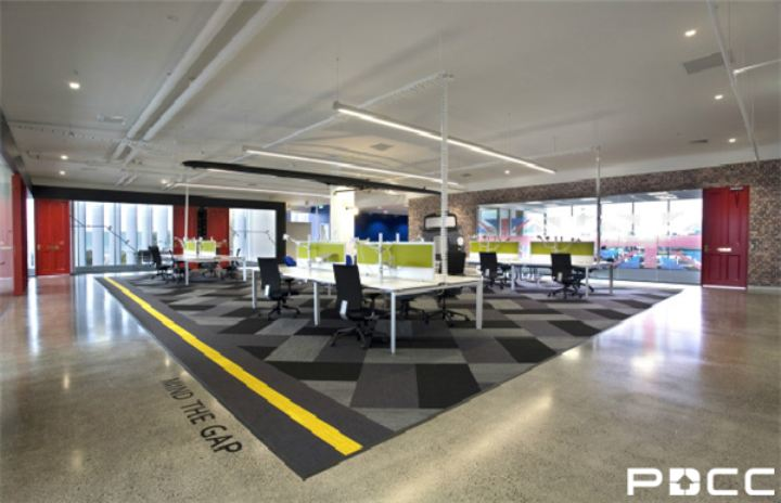 办公室装修趋势展望,文化内涵将更被重视