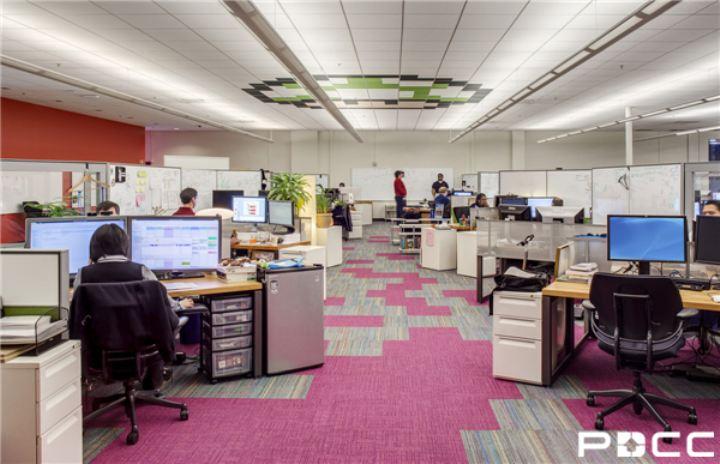 办公室装修之办公家具色彩应用得法