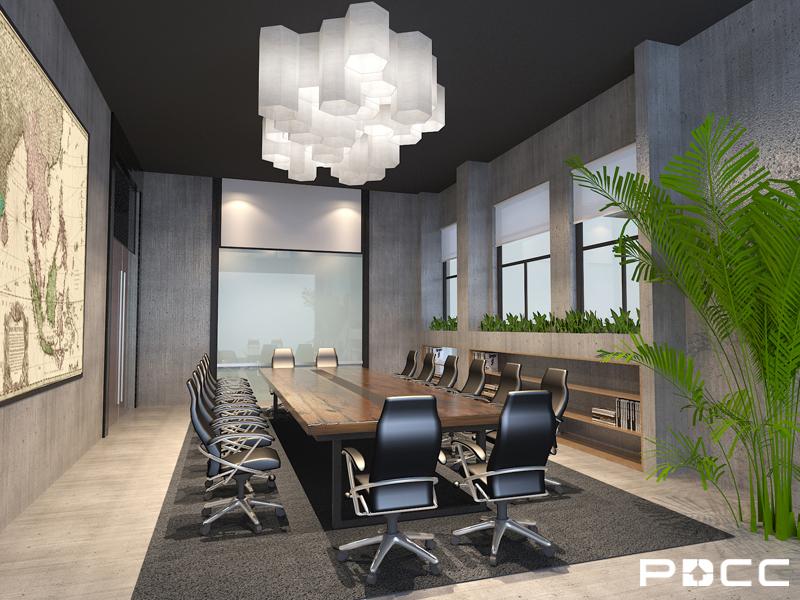 点融网办公室创意装修效果图_点融网会议室设计图片图片