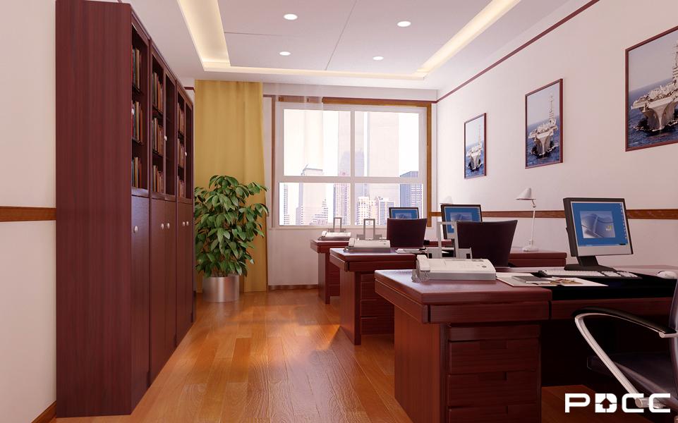 扫雷大队综合楼办公室装修5