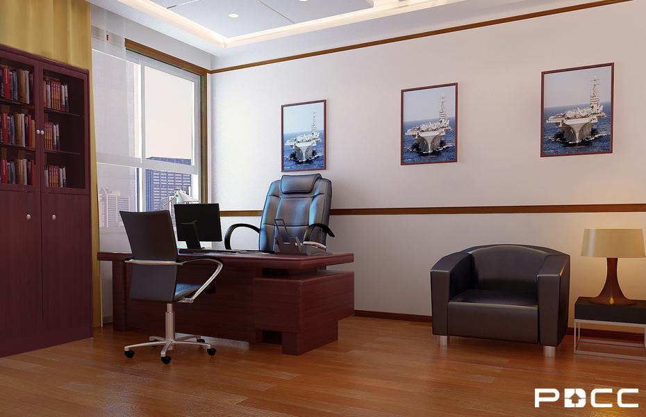 扫雷大队综合楼办公室装修6