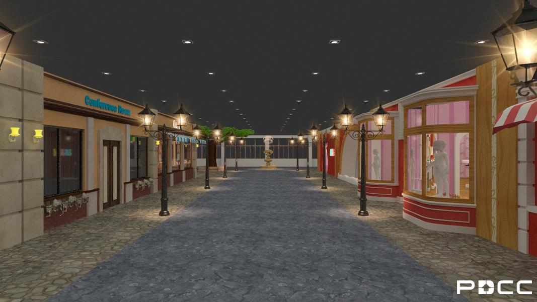 平湖儿童主题乐园二期办公室装修6